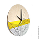 Часы для дома ручной работы. Часы из дерева Лайта. Часы ручной работы.. Ansem-store. Интернет-магазин Ярмарка Мастеров.