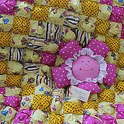 """Для дома и интерьера ручной работы. Ярмарка Мастеров - ручная работа Одеяло """"Мишки из Горошкина"""". Handmade."""