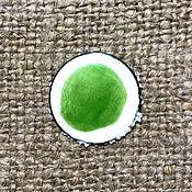 Материалы для творчества handmade. Livemaster - original item Overglaze paint SHINCERAMIC No. №3493 Green cold. Handmade.