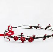Диадемы ручной работы. Ярмарка Мастеров - ручная работа Венок из цветов. Handmade.