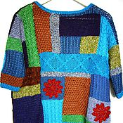 """Одежда ручной работы. Ярмарка Мастеров - ручная работа Джемпер """"Курс на весну"""". Handmade."""