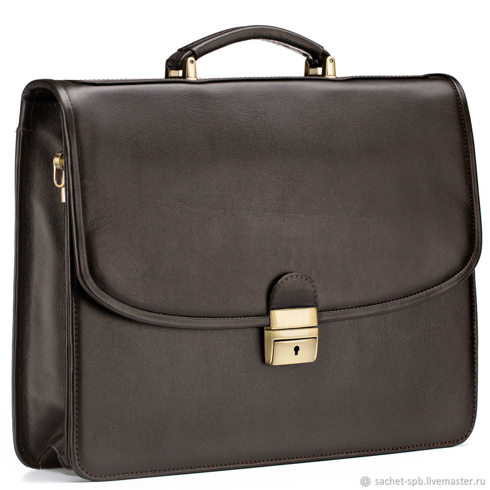 82243f5f3907 Мужские сумки ручной работы. Ярмарка Мастеров - ручная работа. Купить  Кожаный портфель