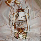 """Для дома и интерьера ручной работы. Ярмарка Мастеров - ручная работа Керосиновая лампа """"Прованс"""".. Handmade."""