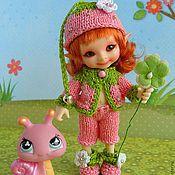 Куклы и игрушки ручной работы. Ярмарка Мастеров - ручная работа Сладкая Ягодка костюмчик для куклы Realpuki. Handmade.