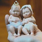 Куклы и игрушки ручной работы. Ярмарка Мастеров - ручная работа Младенец в цветке. Handmade.
