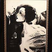 Картины и панно ручной работы. Ярмарка Мастеров - ручная работа Femme de 1950. Handmade.