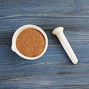 Скрабы ручной работы. Ярмарка Мастеров - ручная работа Шрот из семян льна ,1 кг -100г  ( 0,5 -1 мм). Handmade.