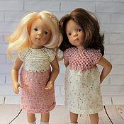 Куклы и игрушки ручной работы. Ярмарка Мастеров - ручная работа Платья на куклу ростом 35 см. Handmade.