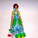 Куклы Тильды ручной работы. Тильда Садовница. Людмила Горбачева. Интернет-магазин Ярмарка Мастеров. Тильда кукла, фоамиран