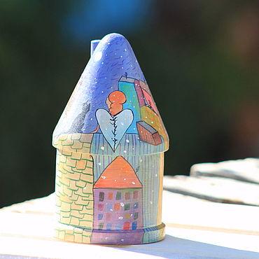 """Куклы и игрушки ручной работы. Ярмарка Мастеров - ручная работа Шкатулка """" Первый снег"""". Handmade."""