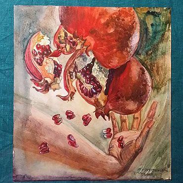 Картины и панно ручной работы. Ярмарка Мастеров - ручная работа Картины: Персефона.. Handmade.