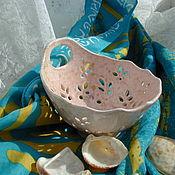 Посуда ручной работы. Ярмарка Мастеров - ручная работа БРОНЬ!!!Berry Bowl Конфетка. Handmade.