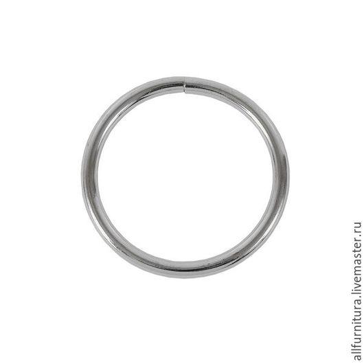 Шитье ручной работы. Ярмарка Мастеров - ручная работа. Купить Кольцо №5 разьемн никель 4,3/39,4/48мм. Handmade.