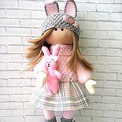 Куклы и игрушки ручной работы. Ярмарка Мастеров - ручная работа Кукла текстильная Анечка. Handmade.
