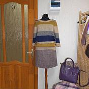 Одежда ручной работы. Ярмарка Мастеров - ручная работа Мохеровый вязаный свитер Монвизо. Handmade.