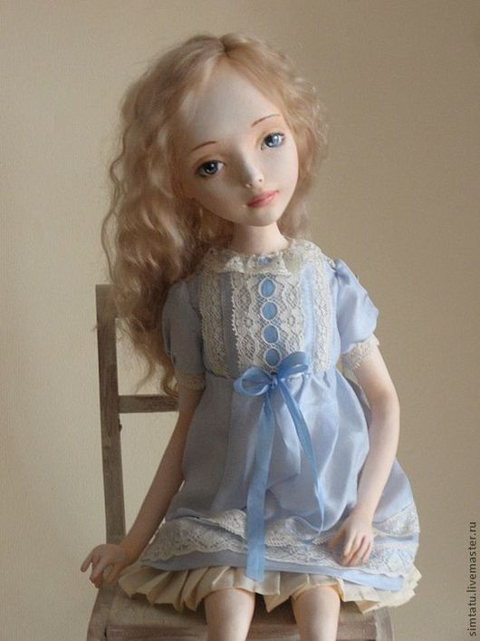 Коллекционные куклы ручной работы. Ярмарка Мастеров - ручная работа. Купить Анастасия.. Handmade. Авторская кукла, кукла девочка