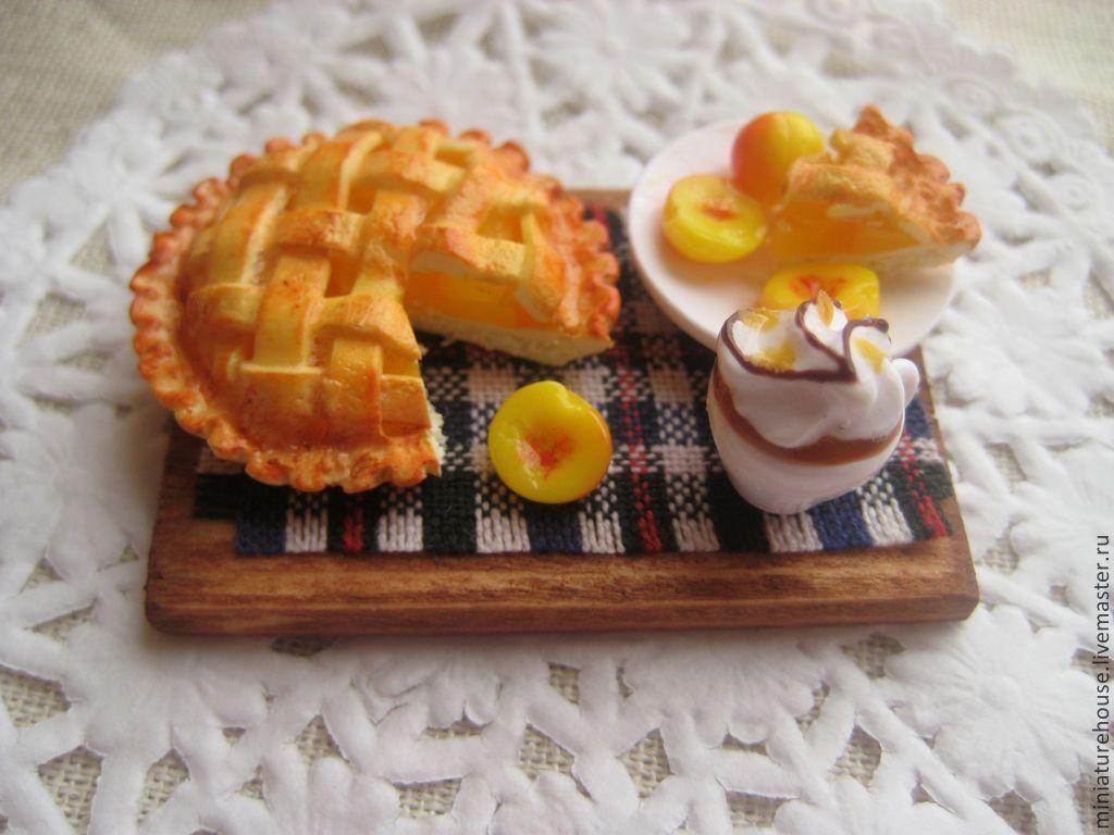 Как сделать пирог из полимерной глины Krugovorot-eco.ru