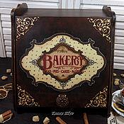 """Для дома и интерьера ручной работы. Ярмарка Мастеров - ручная работа """"Bakery""""  хлебница. Handmade."""