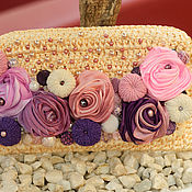 """Сумки и аксессуары ручной работы. Ярмарка Мастеров - ручная работа Клатч """"Spring In Provence"""". Handmade."""