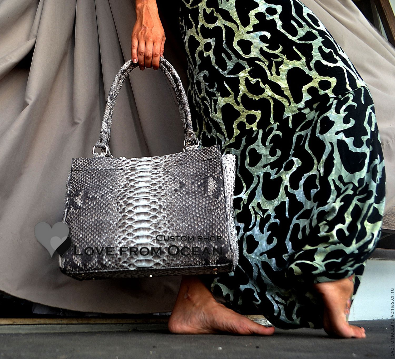 ... Женские сумки ручной работы. Заказать Сумка из кожи питона (натуральная  змеиная кожа)