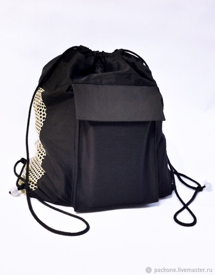 Рюкзак для сменки черный. Рюкзак для спорта, Спортивные костюмы, Тула,  Фото №1