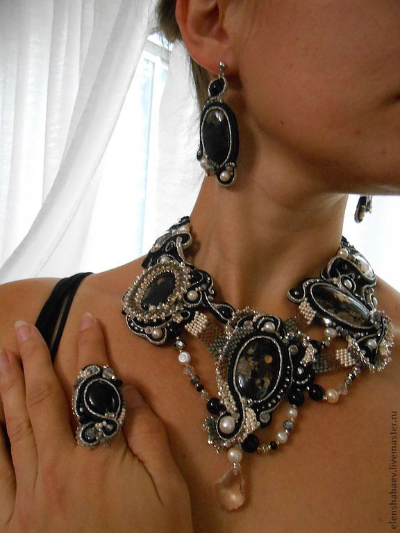 kit:  ' Dark maelstrom', Jewelry Sets, Blagoveshchensk,  Фото №1