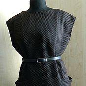 Одежда ручной работы. Ярмарка Мастеров - ручная работа сарафан-теплый. Handmade.