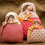 """Куклы и игрушки ручной работы. Ярмарка Мастеров - ручная работа Матрешки в стиле """"Тильда"""". Handmade."""