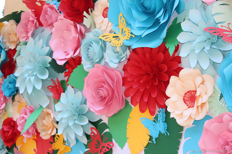 доброго мастер классы по бумажным цветам для фотозоны один