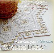 """Материалы для творчества ручной работы. Ярмарка Мастеров - ручная работа Буклет с авторской схемой к салфетке """"Madre Lora"""". Handmade."""