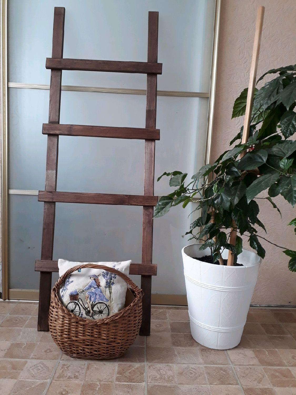 Декоративная  лестница для пледов  2, Лестницы, Стерлитамак,  Фото №1
