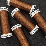 Нитки ручной работы. Ярмарка Мастеров - ручная работа Metallics Antique, цвет 223, металлизированные нити Au Ver a Soie. Handmade.