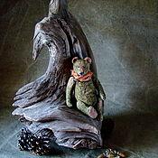 Мишки Тедди ручной работы. Ярмарка Мастеров - ручная работа Зелёный ушастый. Handmade.