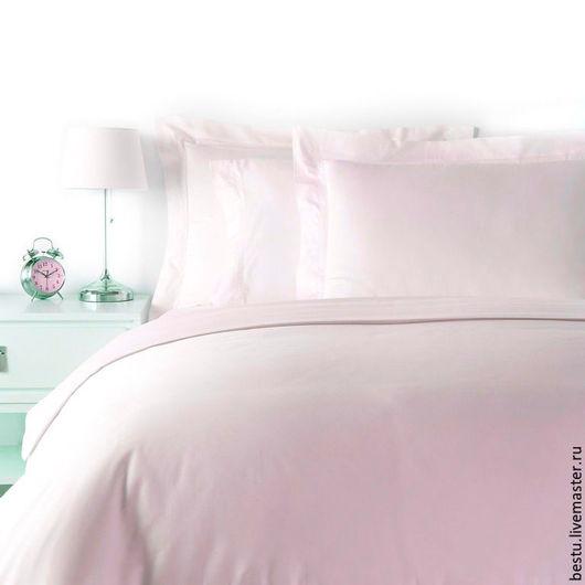 """Текстиль, ковры ручной работы. Ярмарка Мастеров - ручная работа. Купить Постельное белье из премиум сатина """"Розовые розы"""". Handmade."""