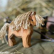 Вальдорфские куклы и звери ручной работы. Ярмарка Мастеров - ручная работа Конь-тяжеловоз. Handmade.