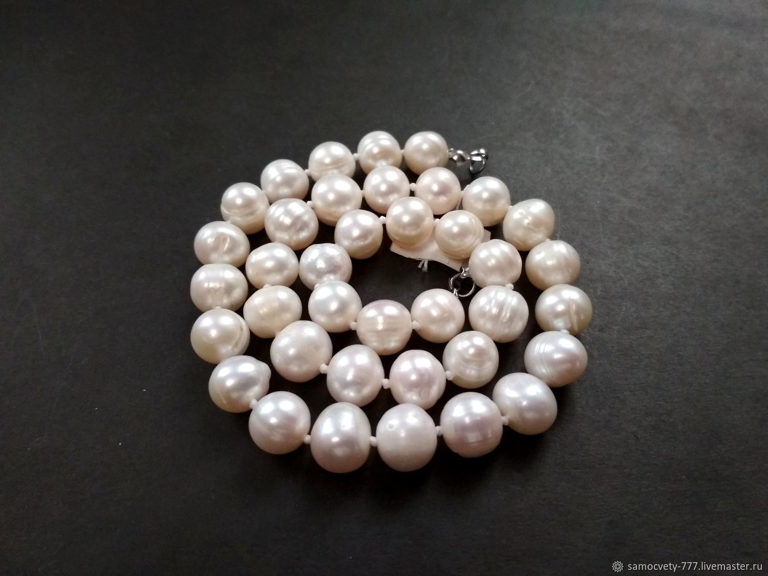 Beautiful necklace of natural pearls'Pearl', Necklace, Feodosia,  Фото №1