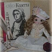 """Куклы и игрушки ручной работы. Ярмарка Мастеров - ручная работа Дама, кукла Козетты из """"Отверженные"""" Гюго. Handmade."""