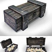 Для дома и интерьера ручной работы. Ярмарка Мастеров - ручная работа Деревянная коробка. Handmade.