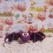 Мягкие игрушки ручной работы. Ярмарка Мастеров - ручная работа Игрушки: Летучая мышь. Handmade.