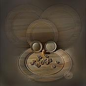 Сувениры и подарки ручной работы. Ярмарка Мастеров - ручная работа тарелочки, блюда из дерева (липа). Handmade.