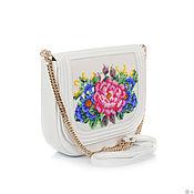 Сумки и аксессуары handmade. Livemaster - original item Exclusive handmade handbag with a unique beaded Summer flowers. Handmade.
