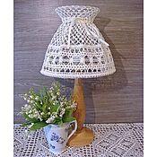 Для дома и интерьера handmade. Livemaster - original item Table lamp with lampshade handmade. Handmade.