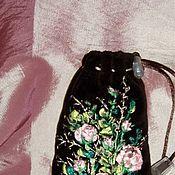 """Сумки и аксессуары ручной работы. Ярмарка Мастеров - ручная работа Чехол для телефона """"Чайные розы"""". Handmade."""
