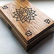Для дома и интерьера handmade. Livemaster - original item Oak coin box (wooden album for coins). Handmade.