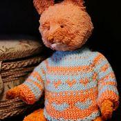 Мягкие игрушки ручной работы. Ярмарка Мастеров - ручная работа Лис Тедди Ши, Teddy Fox Shi. Handmade.