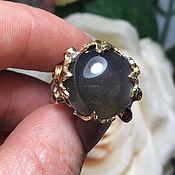 Украшения handmade. Livemaster - original item Author`s ring with natural moonstone. Handmade.