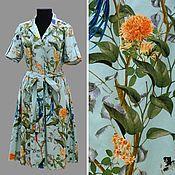 Одежда ручной работы. Ярмарка Мастеров - ручная работа Платье цвета тиффани. Handmade.