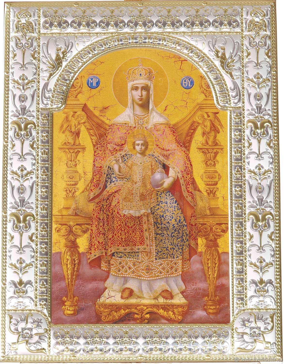 Sovereign icon of the mother of God (18x24cm), Icons, Moscow,  Фото №1