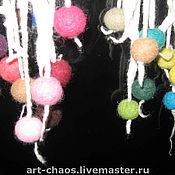 """Аксессуары ручной работы. Ярмарка Мастеров - ручная работа Нежный шарф """"Для медитаций"""". Handmade."""