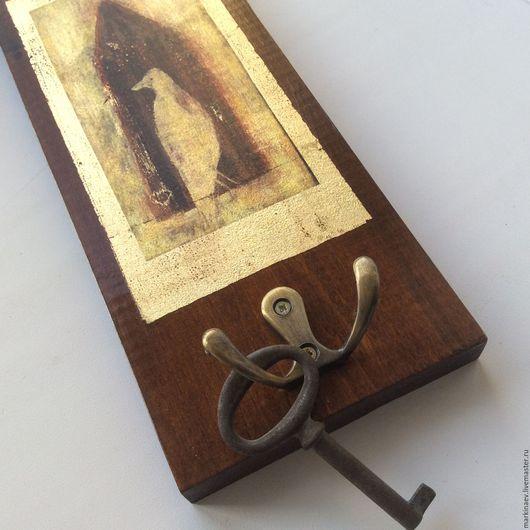 """Прихожая ручной работы. Ярмарка Мастеров - ручная работа. Купить Ключница """"Птица"""". Handmade. Ключница ручной работы, вешалка для ключей"""
